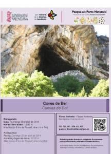 Programa ruta cuevas Bel